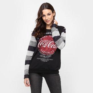 Moletom Coca-Cola Tricot