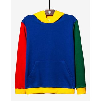 Moletom Colorful Block Hermoso Compadre Masculino