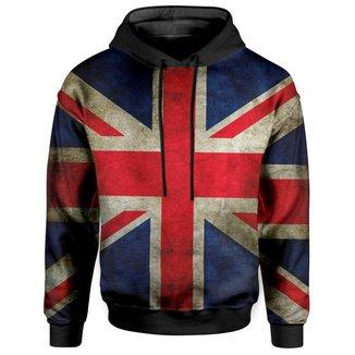Moletom Com Capuz Unissex Bandeira Reino Unido UK Md02