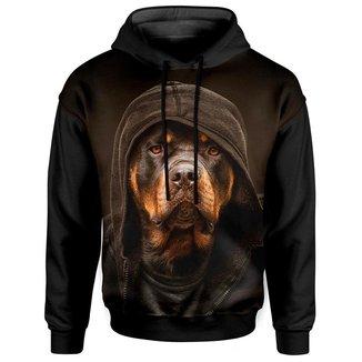 Moletom Com Capuz Unissex Rottweiler md01