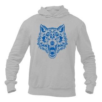 Moletom com Capuz Wolf Night Km10 Sports