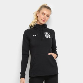 Moletom Corinthians Nike GFA c/ Capuz Feminino