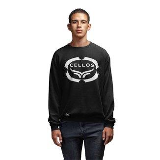 Moletom Crew Neck Cellos Corp Premium Masculino