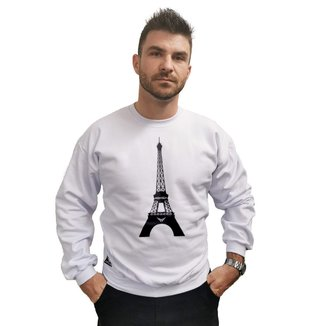 Moletom Crew Neck Cellos Eifel Tower Premium