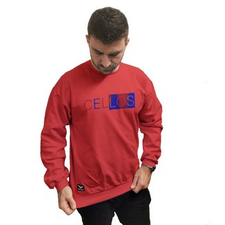 Moletom Crew Neck Cellos Half Box Gradient Premium
