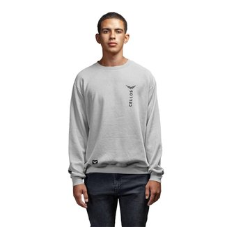 Moletom Crew Neck Cellos Vertical Premium Masculino