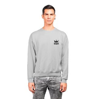 Moletom Crew Neck Ezok King Masculino