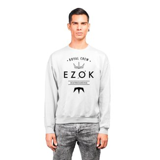 Moletom Crew Neck Ezok Royal Crew Masculino