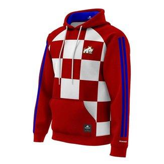 Moletom Croácia Rinno Force Futebol Masculino