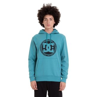 Moletom DC Shoes Cang Bas Circle Back Masculino