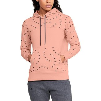 Moletom de Treino Feminino Rival Fleece Printed Under Armour