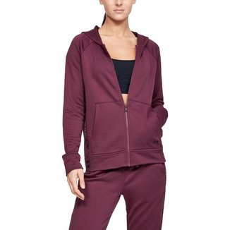 Moletom De Treino Under Armour Tech Terry Full Zip  Feminino