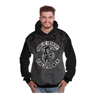 Moletom Di Nuevo Sons of Anarchy Masculino