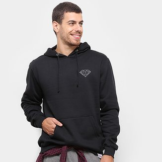 Moletom Diamond Brilliant Hoodie Canguru Masculino