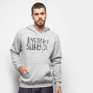 Moletom Diamond Downtown Signature Hoodie Canguru Masculino