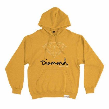 Moletom Diamond OG Sign Hoodie Plus Size Masculino