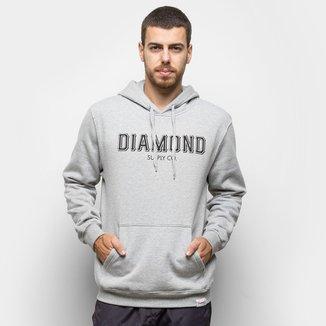 Moletom Diamond SF Hoodie Cangur Masculino