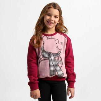 Moletom Disney Winnie The Pooh Infantil