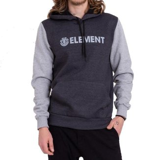 Moletom Element Fechado Simple Block Masculino
