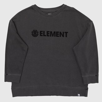 Moletom Element Logo Feminino