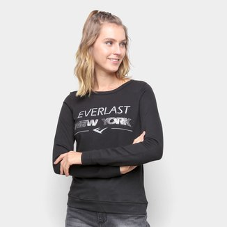 Moletom Everlast New York Fechado Feminino