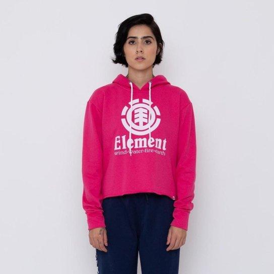 MOLETOM FECH AMORA - ROSA - G - Rosa