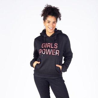 Moletom Feminino Capuz Girls Power