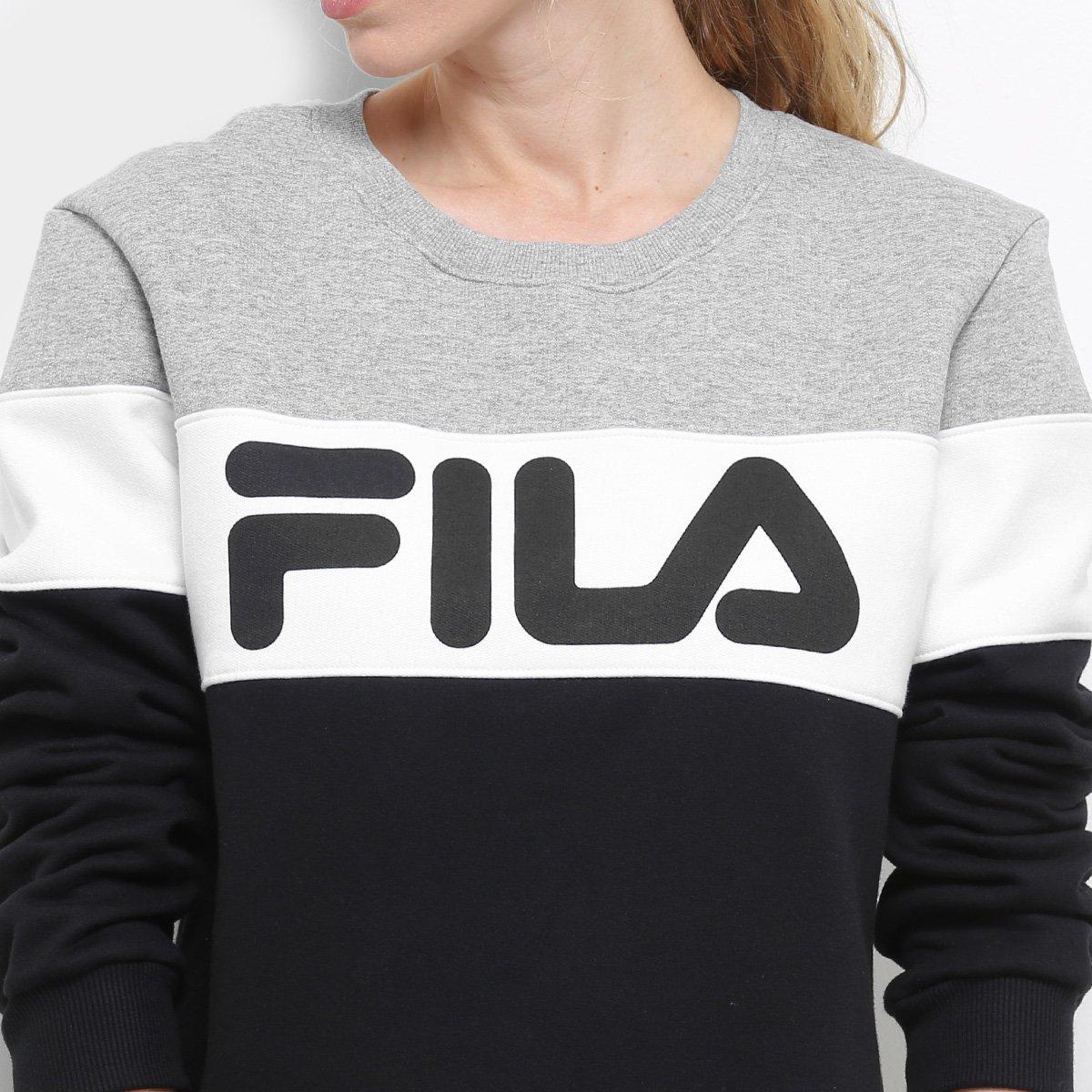 b1d32f90a9caa Moletom Fila Soft Pop Feminino - Compre Agora   Netshoes