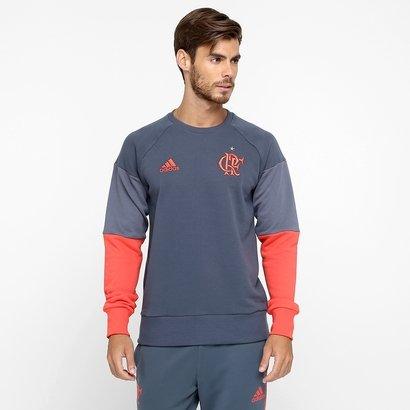 Moletom Flamengo Adidas Treino Masculino