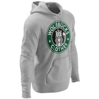 Moletom Forthem Canguru Wolfbucks Capuz Masculino
