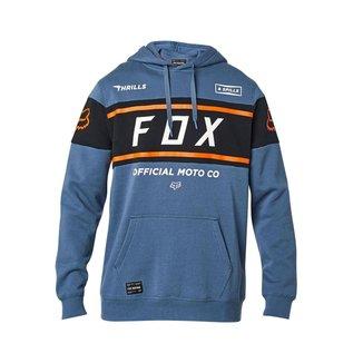 MOLETOM FOX OFFICIAL PULLOVER BLUE L