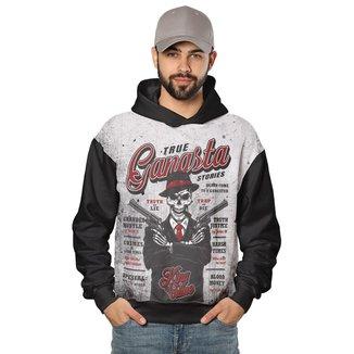 Moletom Ganstar Skull Style Masculino