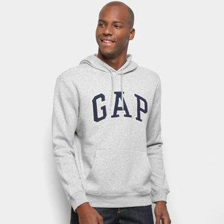 Moletom GAP Logo Costura Masculino