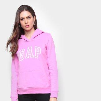 Moletom GAP Logo Relevo Feminino