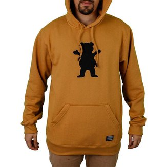 Moletom Grizzly Canguru Og Bear Plus Size