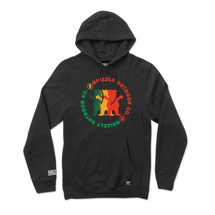 Moletom Grizzly Faceoff Hoodie Plus Masculino