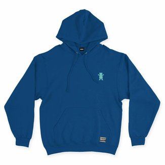 MOLETOM GRIZZLY OG BEAR PULLOVER EMBROIDERY HOODIE