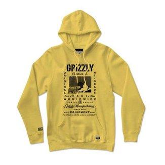 Moletom Grizzly Tagline Hoodie