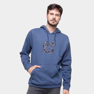 Moletom Hang Loose Fc Logoswell Canguru Masculino