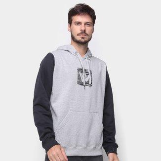 Moletom Hang Loose Logoshark Canguru Masculino