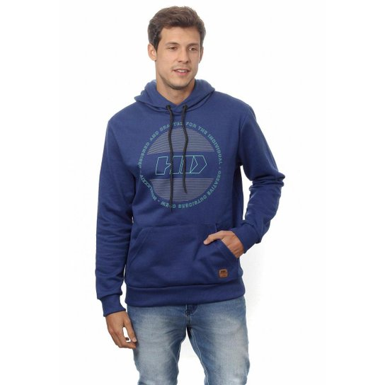 Moletom HD Hawaian Dreams Fechado Masculino - Azul