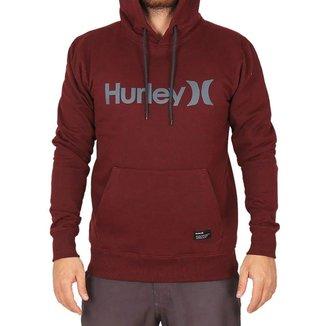 Moletom Hurley Canguru Fechado O&O Masculino