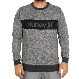 Moletom Hurley Careca Abore Oeo Masculino