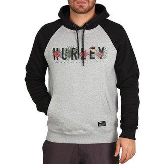 Moletom Hurley Fechado Flourish Masculino