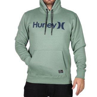 Moletom Hurley Fechado O&O Solid Masculino