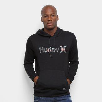 Moletom Hurley Military Canguru Masculino