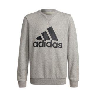 Moletom Infantil Adidas Essentials Big Logo Masculino