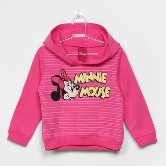Moletom Infantil Cativa Peluciado Minnie Feminino