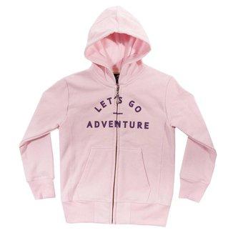 Moletom Infantil com capuz Comfy Adventure Feminino
