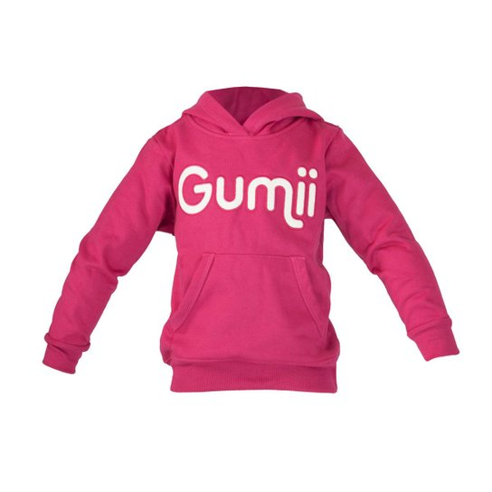 Moletom Infantil Gumii Canguru Feminina - Pink